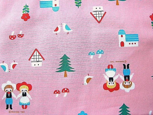 Cute Japanese Cotton Fabric - Fairy Tale - Marchen (F229)