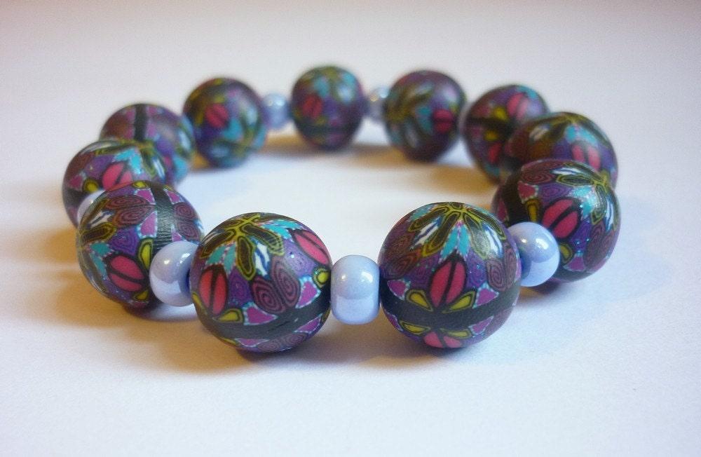 Millefiori Kaleidoscope Bracelet