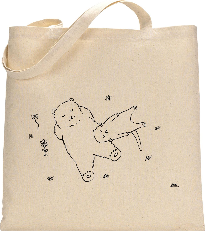 Otter  Animal Tote bag