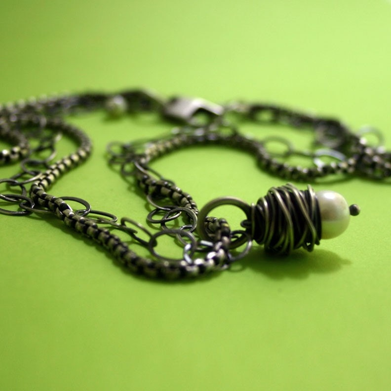 Wrapture Pearl Necklace