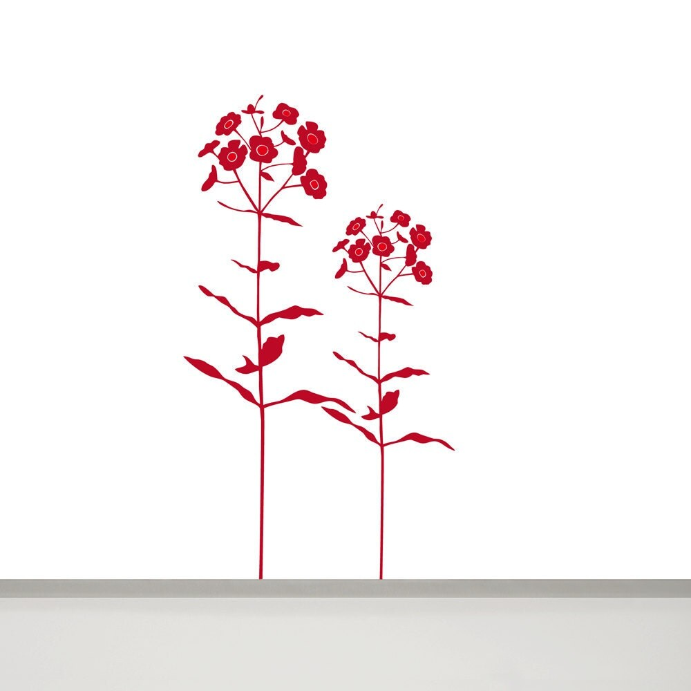 large flower wall sticker