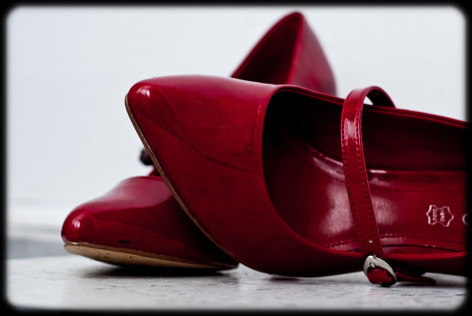 Red Shoes - 8x10 print - GeekgirlyPhotography