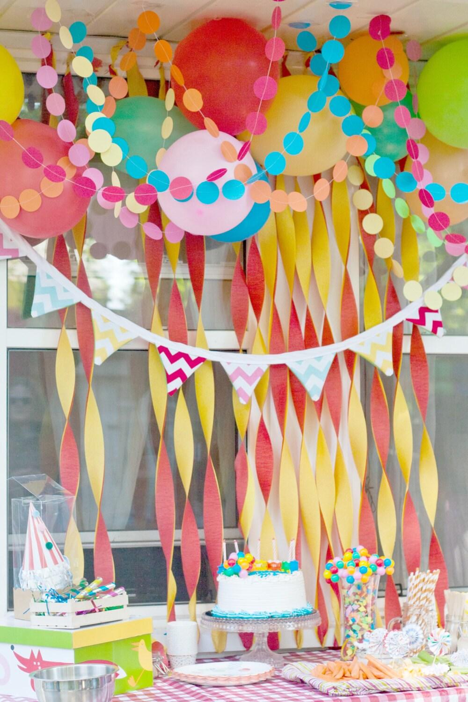 День рожденье ребенка как украсить двор фото