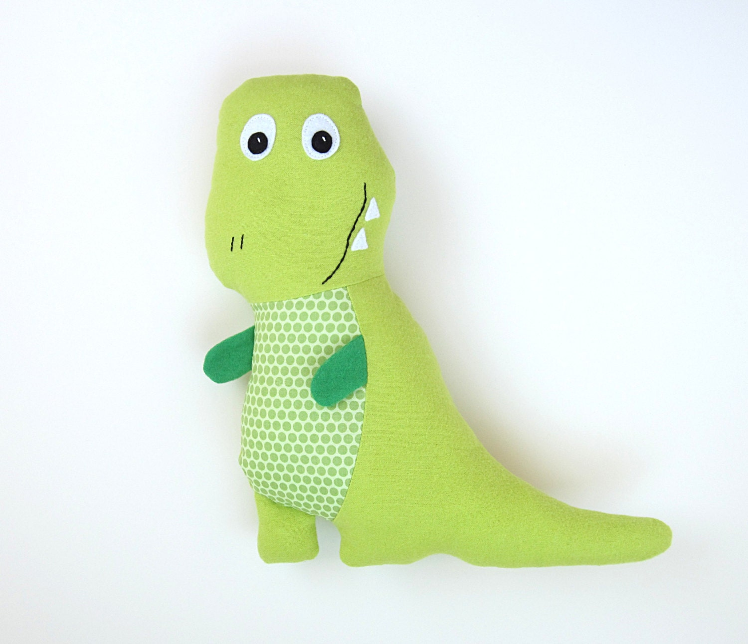 Tony T-Rex Pattern DIY Stuffed Dinosaur Toy and Baby Dinosaur Set, Tracy TRex Tutorial DIY Friendly Dinosaur Pdf Sewing Pattern - MyFunnyBuddy
