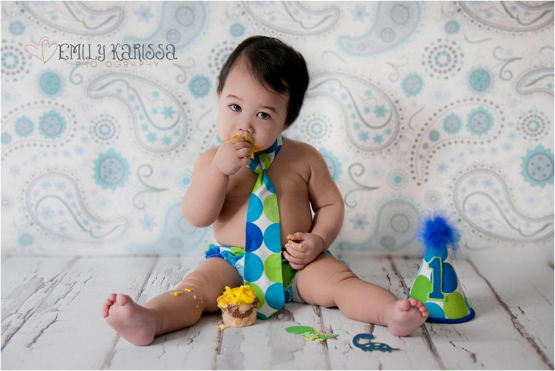 Toddler Boy Birthday Cake Images : Baby Boy / Toddler First Birthday Cake by FuzzyCheeksBoutique