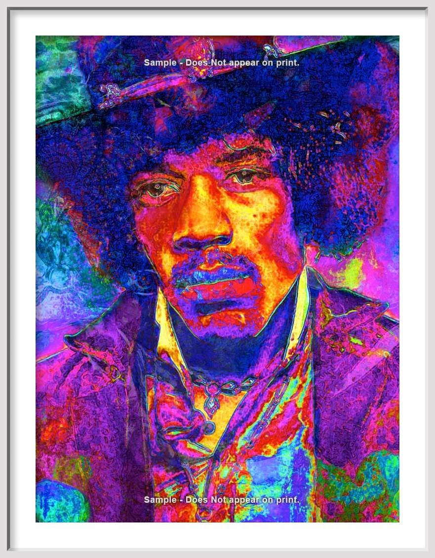 Jimi Hendrix | paper stuff | Pinterest