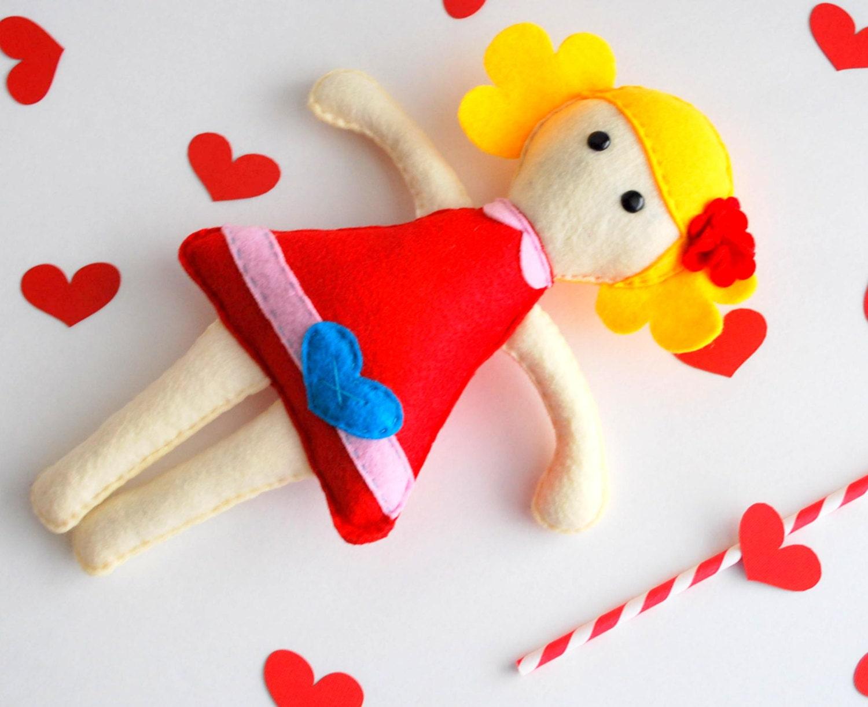Molly Rag Doll - Eco-friendly Softie Rag Doll Toy A494