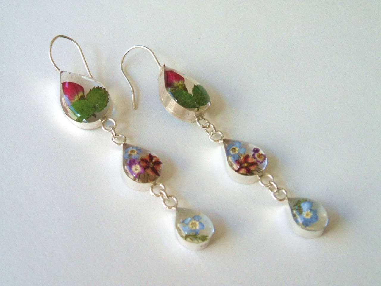 Beautiful Rose Earrings