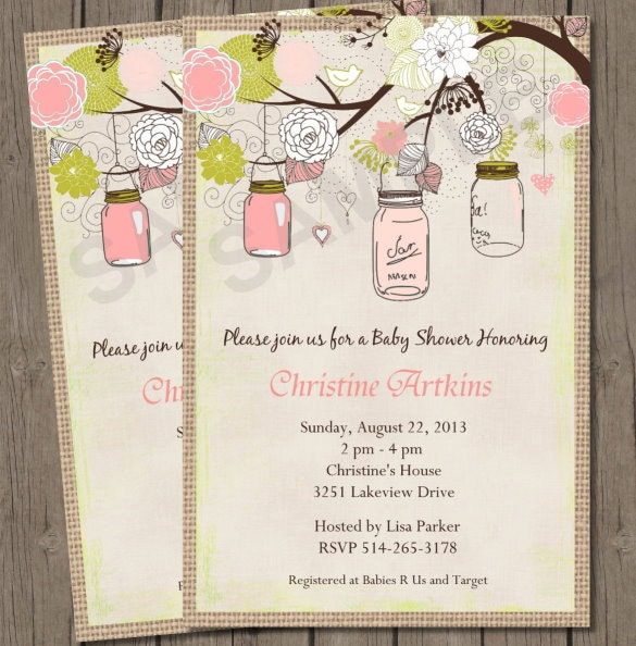 Free Babyshower Invites with beautiful invitations example