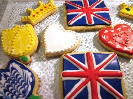 Royal Wedding Cookies Order by Monday April 25th 5pm to ensure delivery by Wedding date - Gluten Free
