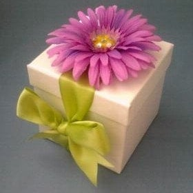 Handmade Flower Gift Box