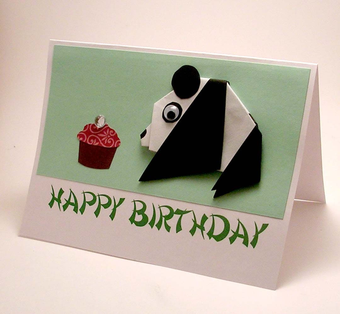 ORIGAMI BIRTHDAY CARDS « EMBROIDERY & ORIGAMI - photo#4
