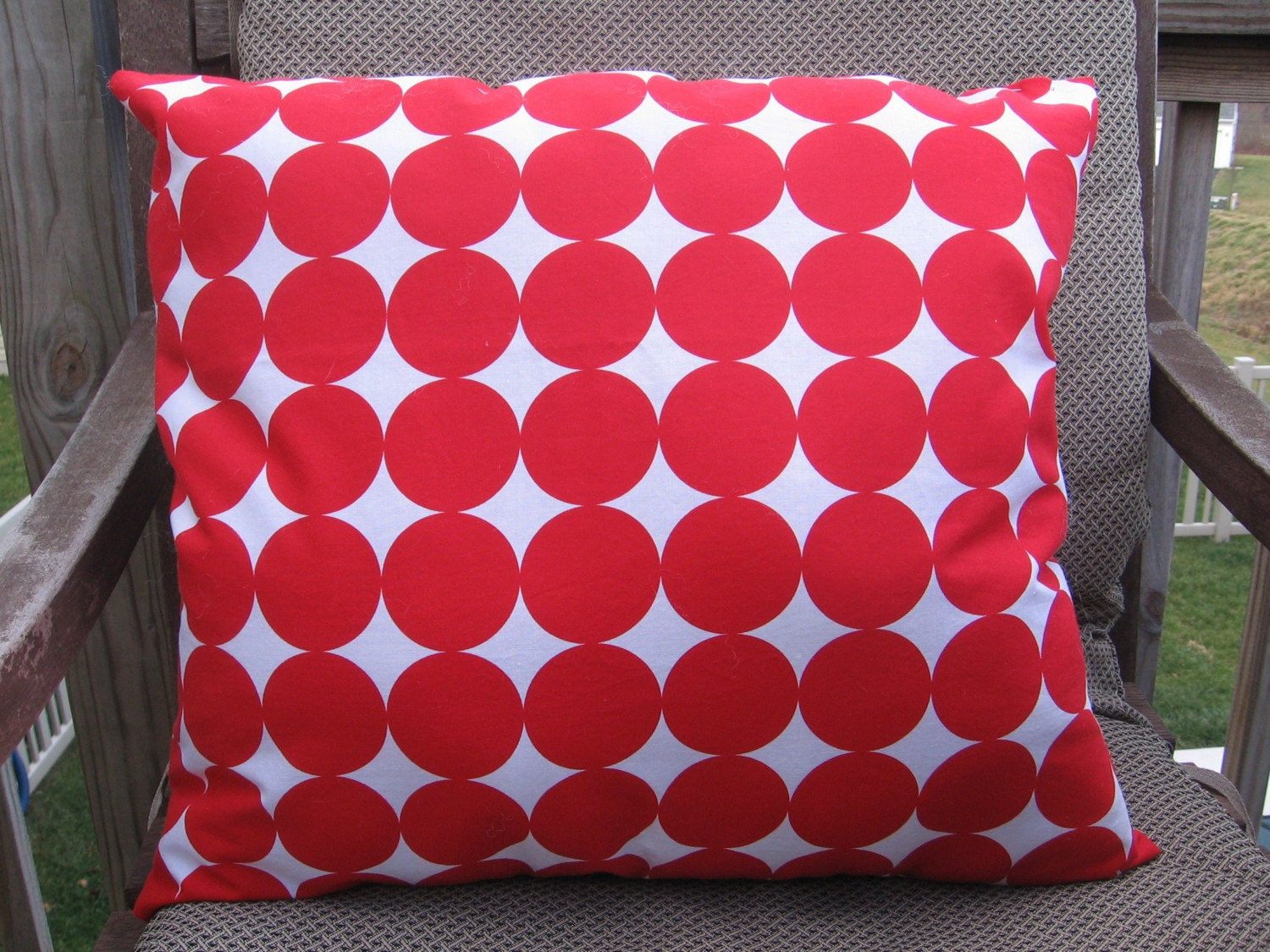 Holiday or Not Dot Pillow