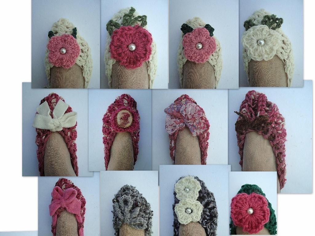 Easy Slippers For Beginners - Sue's Crochet and Knitting