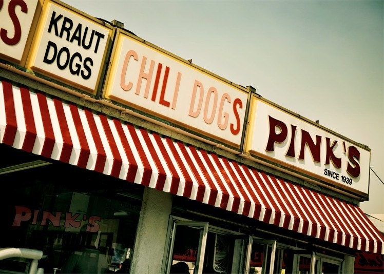 Pink's of Hollywood - 5x7 Fine Art Photography Print