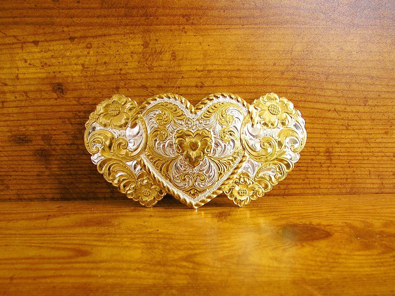 Crumrine Heart belt bu...