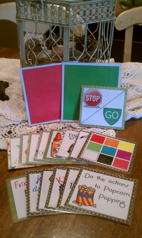 Fun Ways to Sing Cards - Set 2