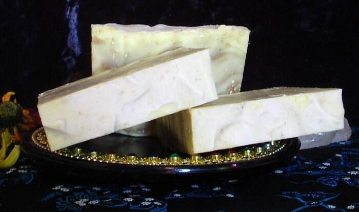 Vanilla Lime Swirl Soap