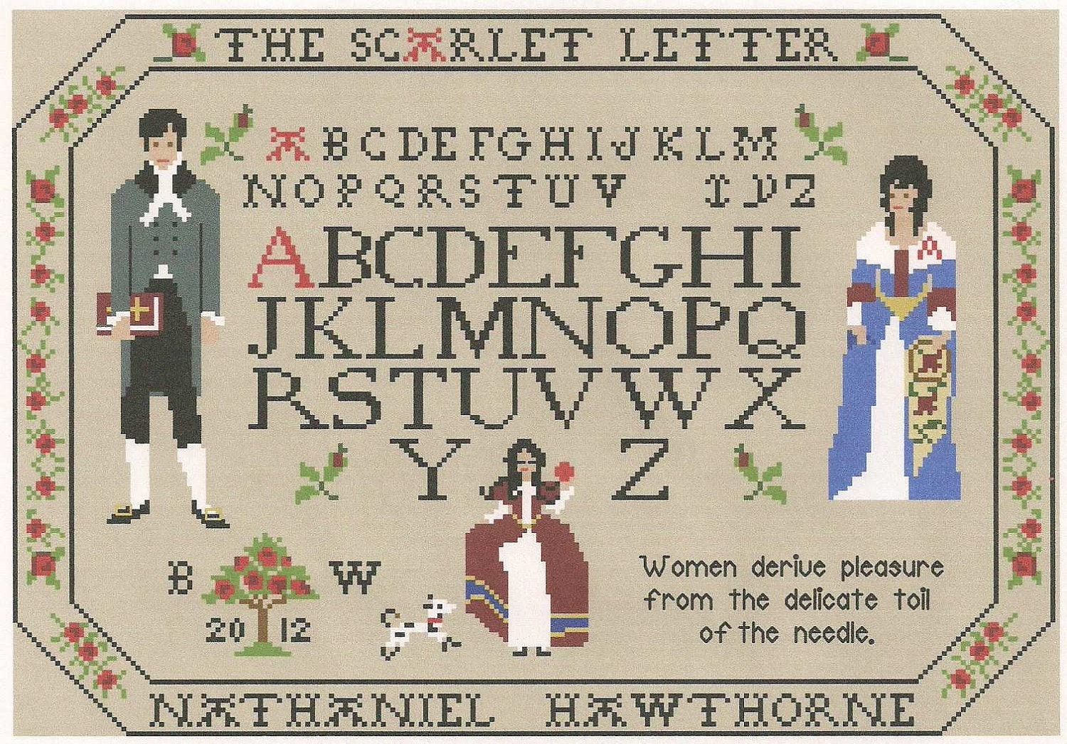 an analysis of major symbols in the scarlet letter A summary of chapters 1–2 in nathaniel hawthorne's the scarlet letter  , instead setting the scene and introducing the first of many symbols that  analysis.