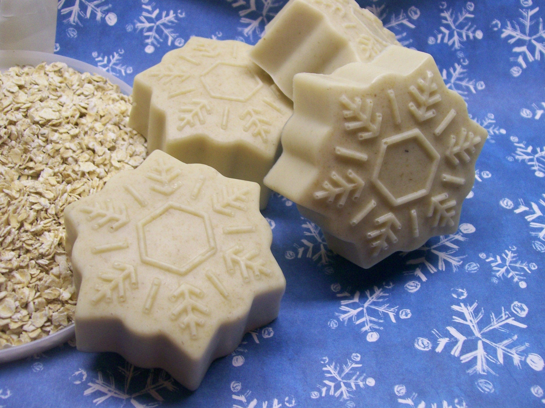 Oatmeal Snowflake Soap