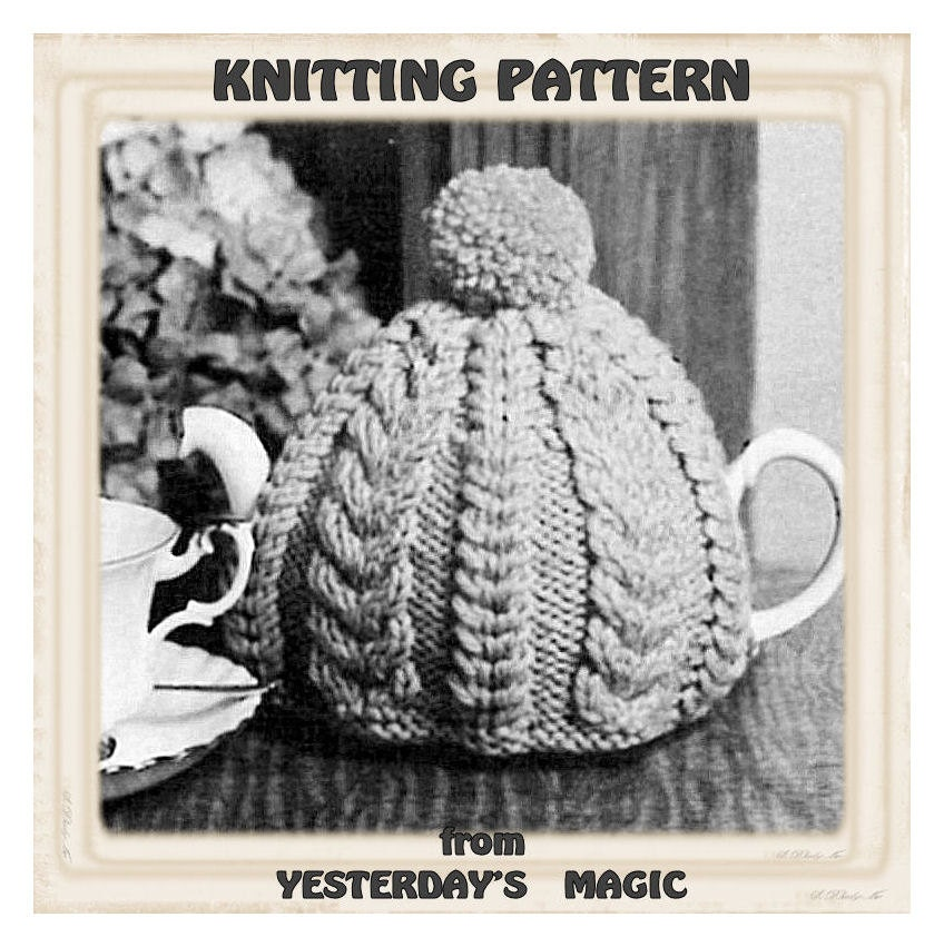 Traditional Tea Cosy Knitting Pattern : Turn that Hat into a Tea Cosy Hello Tea Cup