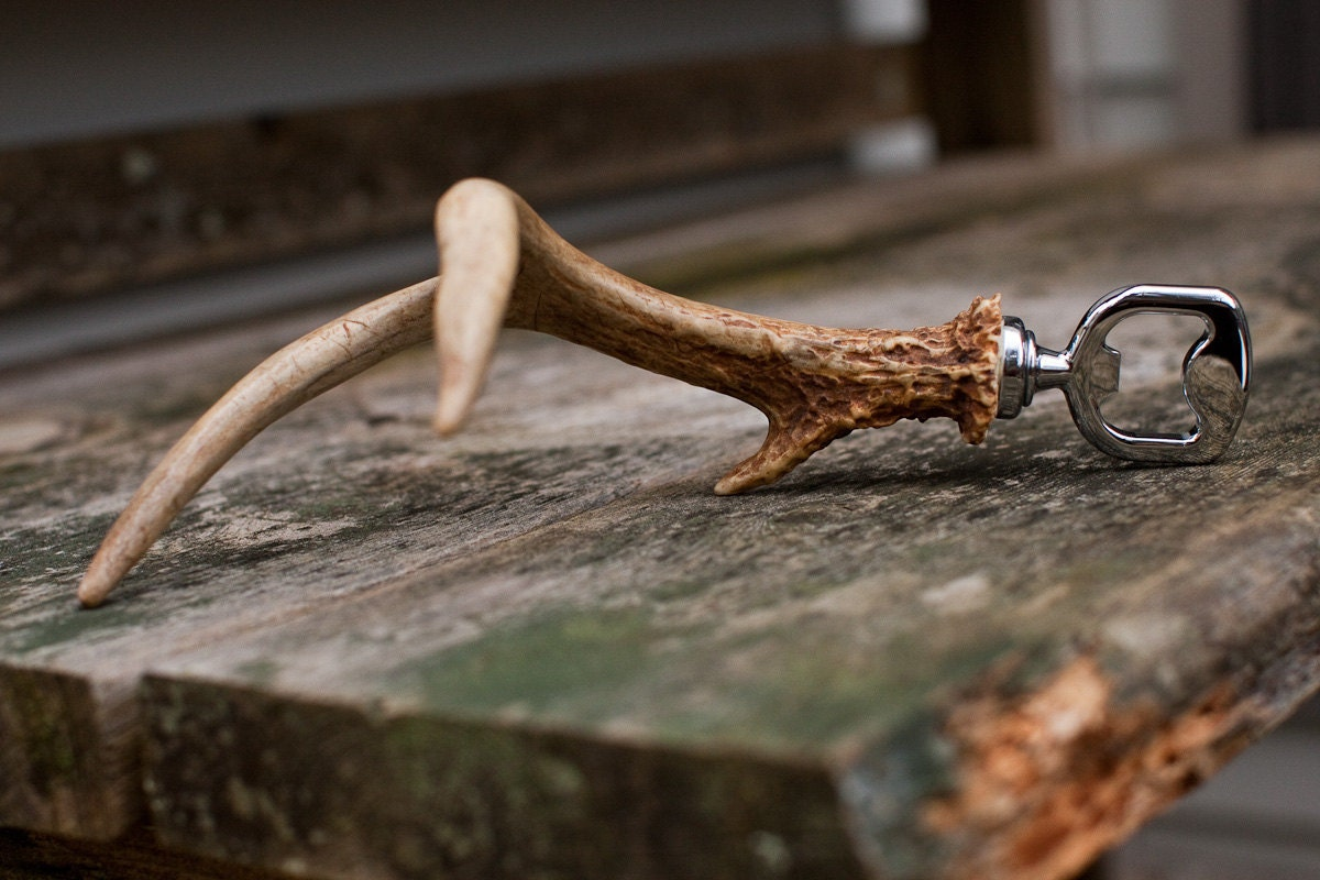 Antler Bottle Opener - TheDapperFox