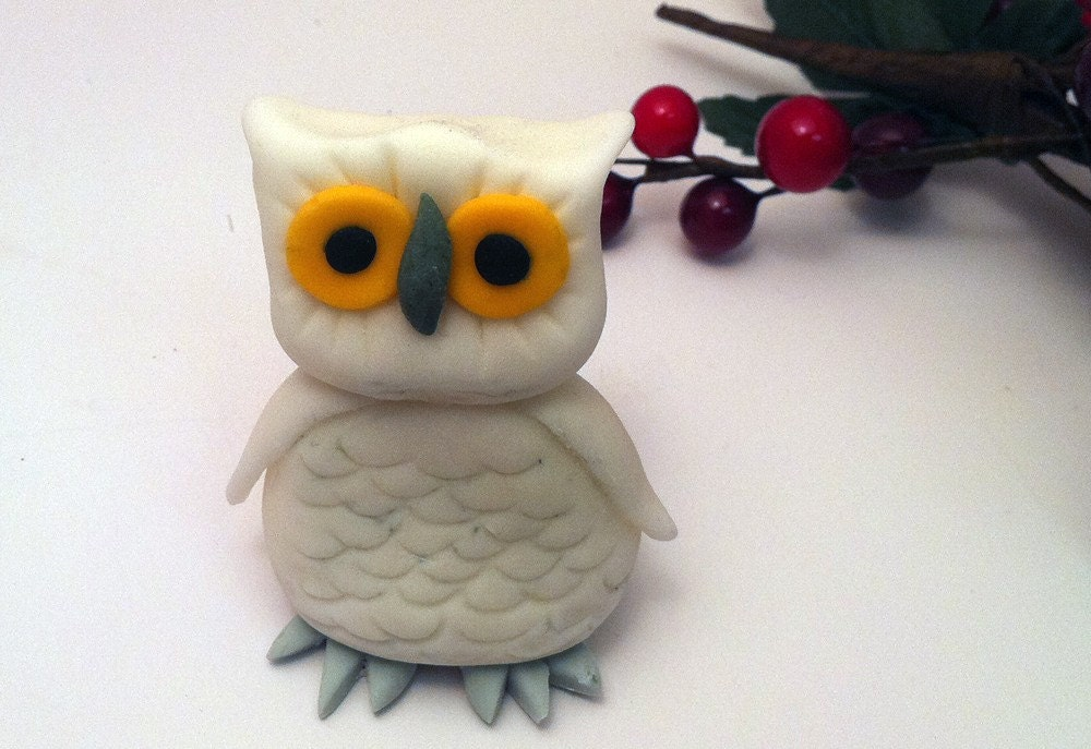 how to make an owl cake topper out of fondant