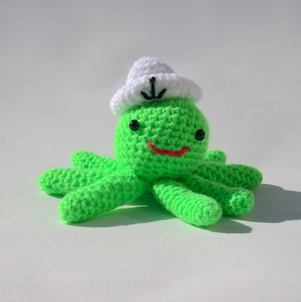 Amigurumi Pikachu Pattern Free : Amigurumi Squid octopus toy Rupert the squid handmade by ...