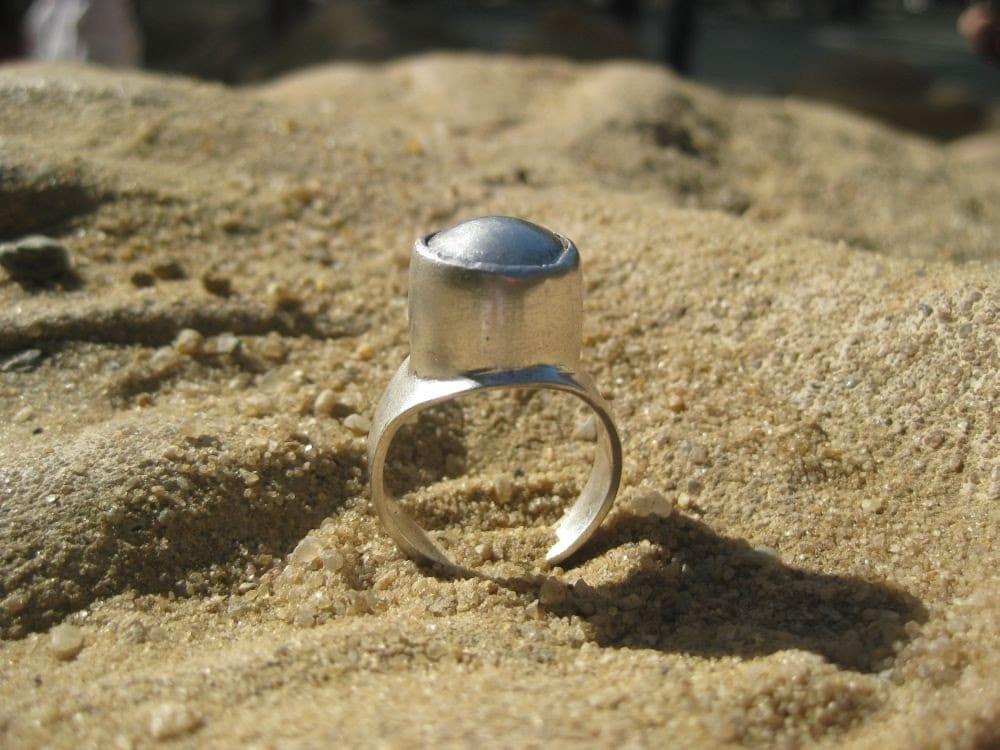 Gris-Gris Amulet Silver Ring
