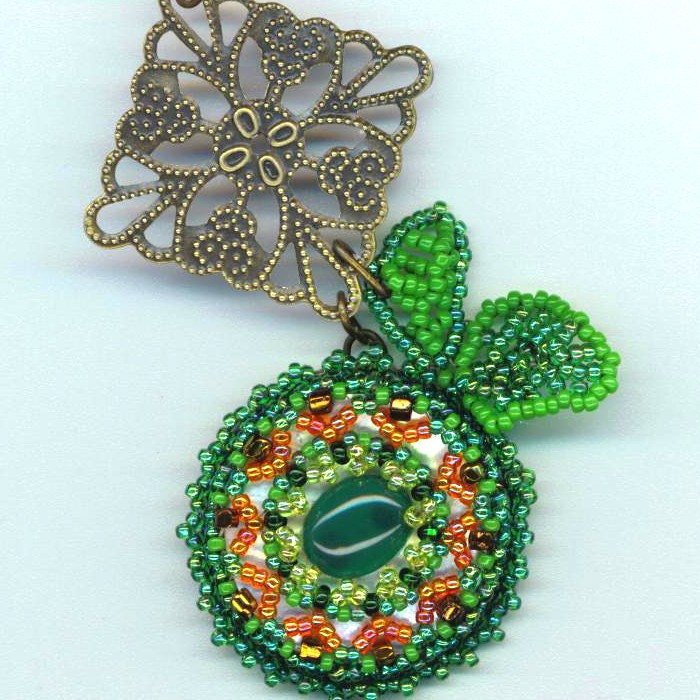 Green Emerald Pendant