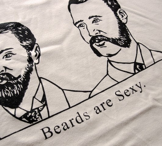 Beards Are Sexy Mens T-Shirt - Sizes S, M, L, XL