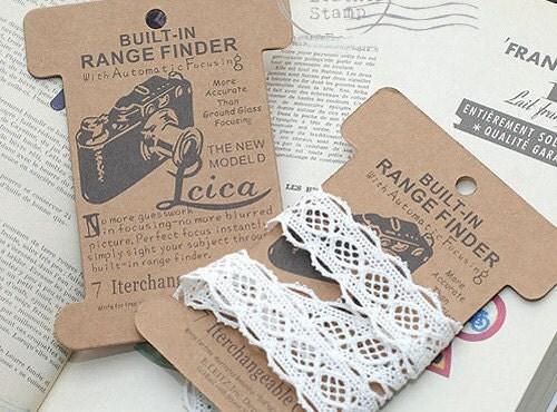 Paper Bobbin - Camera