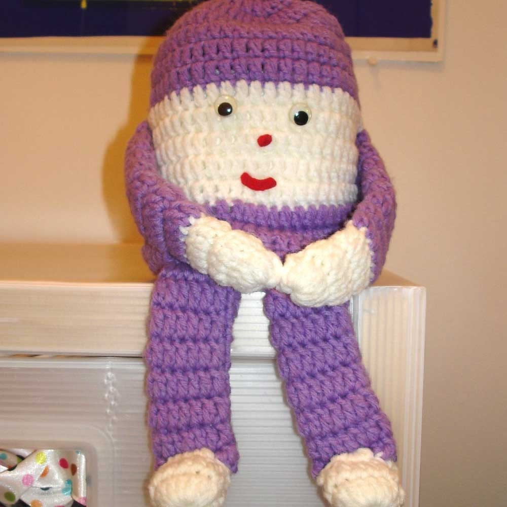 Crochet Doll Free Paper Pattern Toilet Crochet Patterns