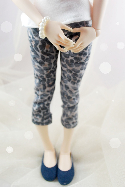 Leopard Leggings for MSD sized dolls