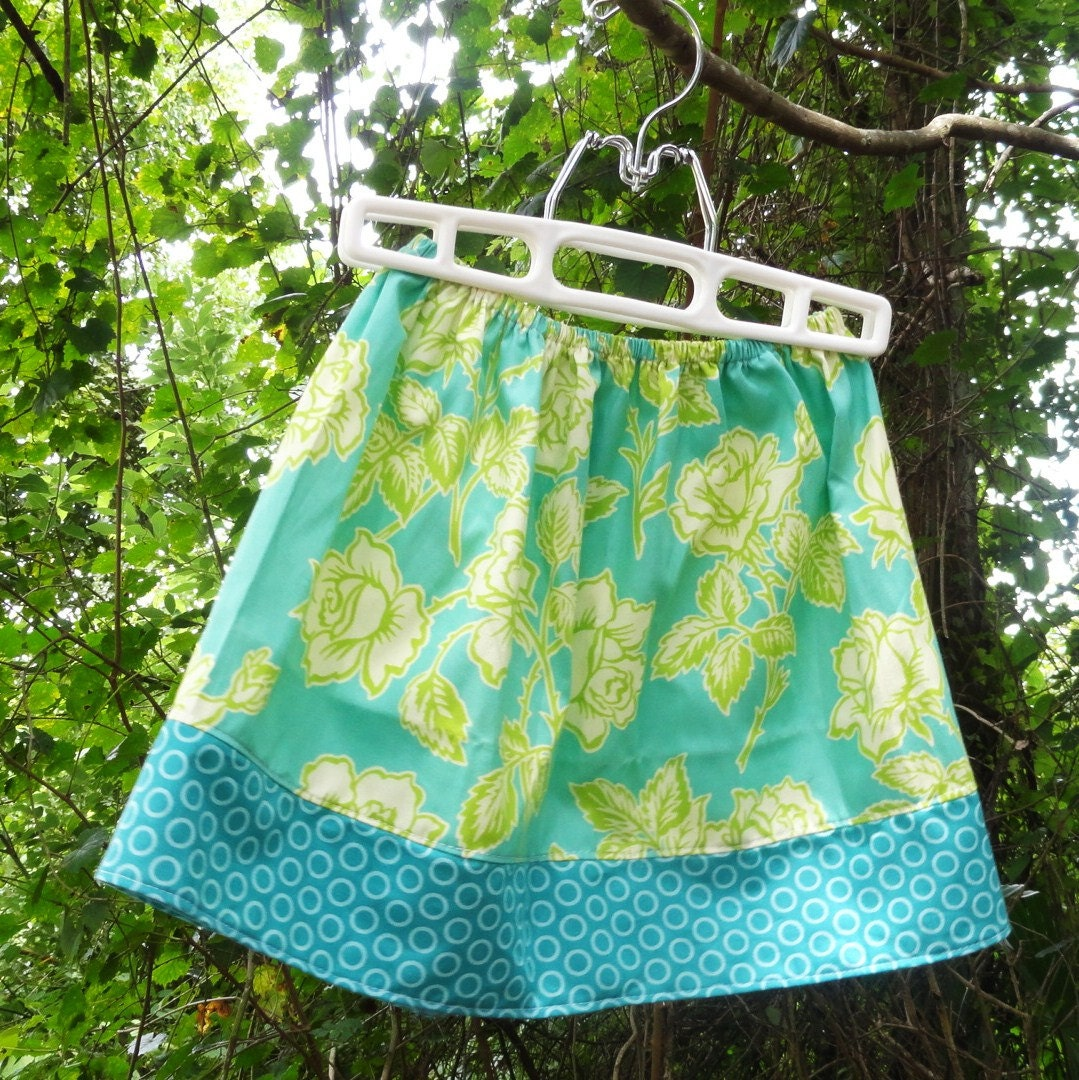 Teal Garden Buy 2 girls skirts get 1 Free Size 12m to 8 years - Amievoltaire