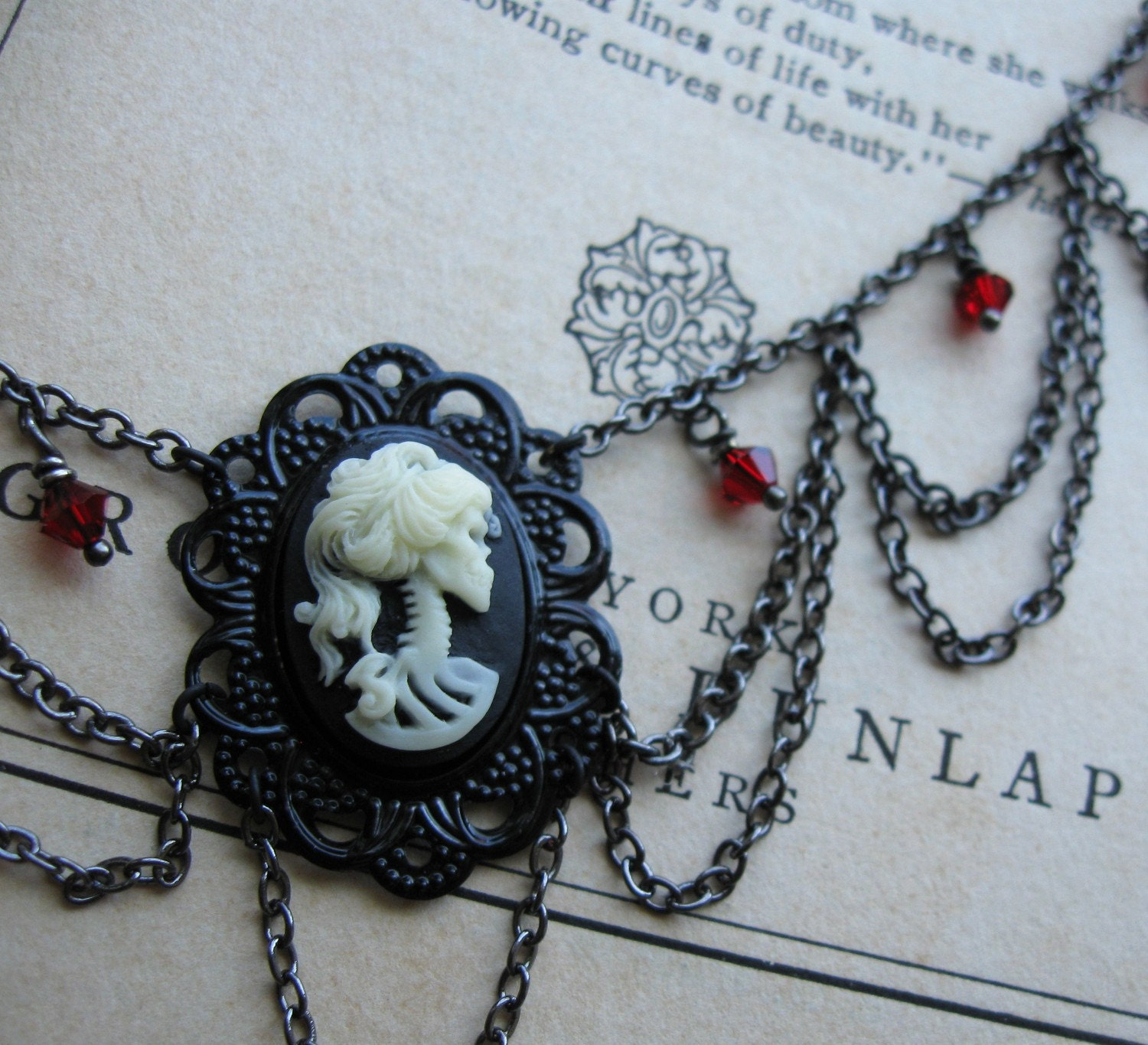 Silent in Solitude . Necklace