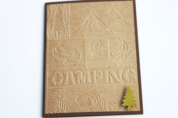 Camping Birthday Card - RoyalRegards