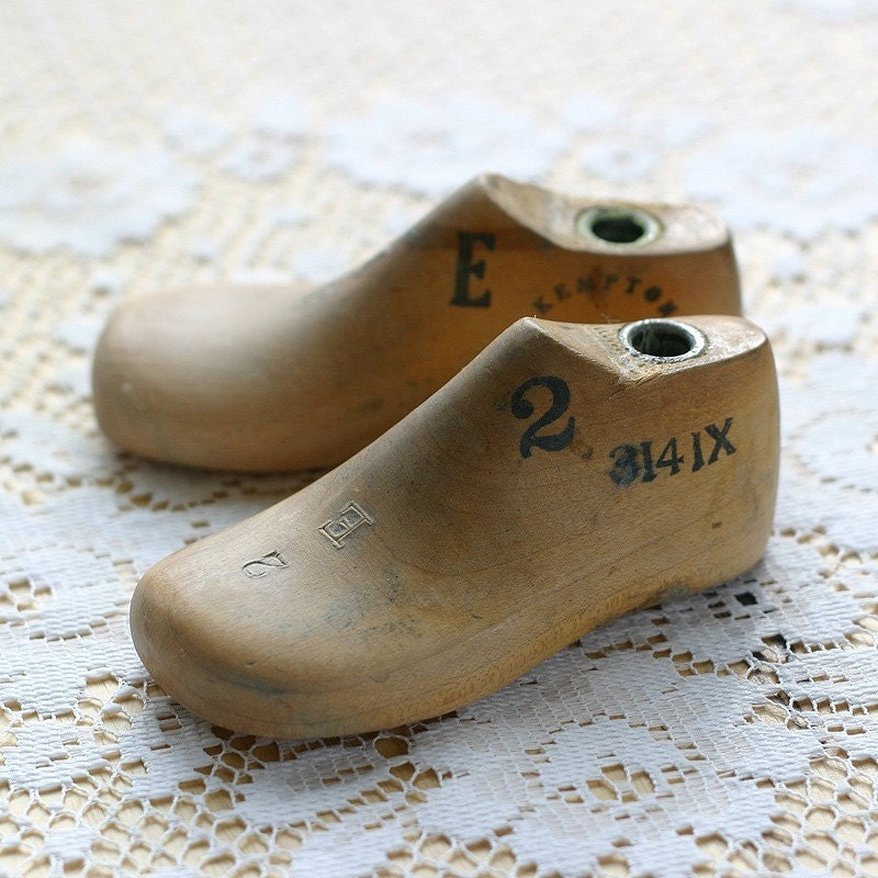 Vintage Pair of Baby Shoe Lasts