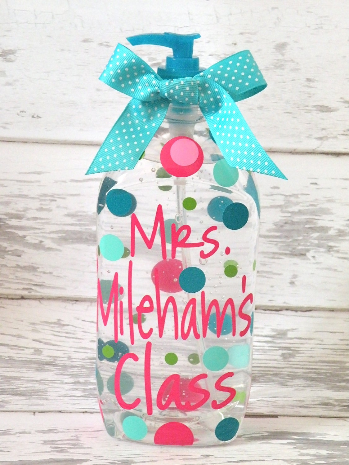 Personalized Jumbo 40 ounce Hand Sanitizer