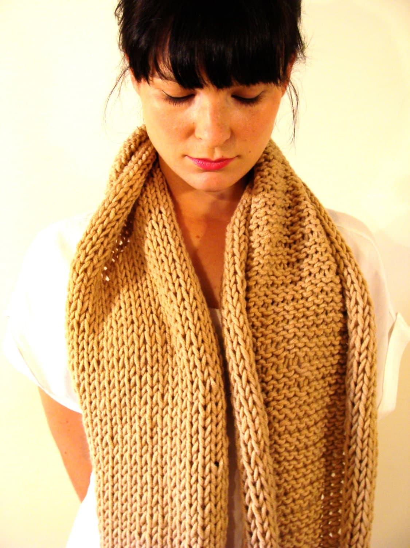 camel autumn classic scarf - Farfels
