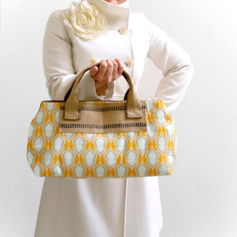 tangerine pocketbook handheld satchel