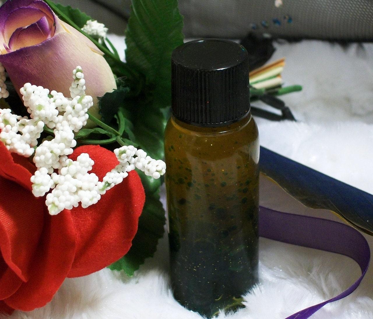 Araida Goddess of Earth Essential Oil In Glow in the Dark Bottle
