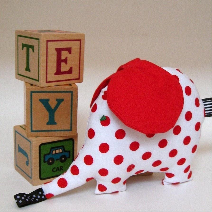 retro elephant baby stuffed toy / I'm such a softie