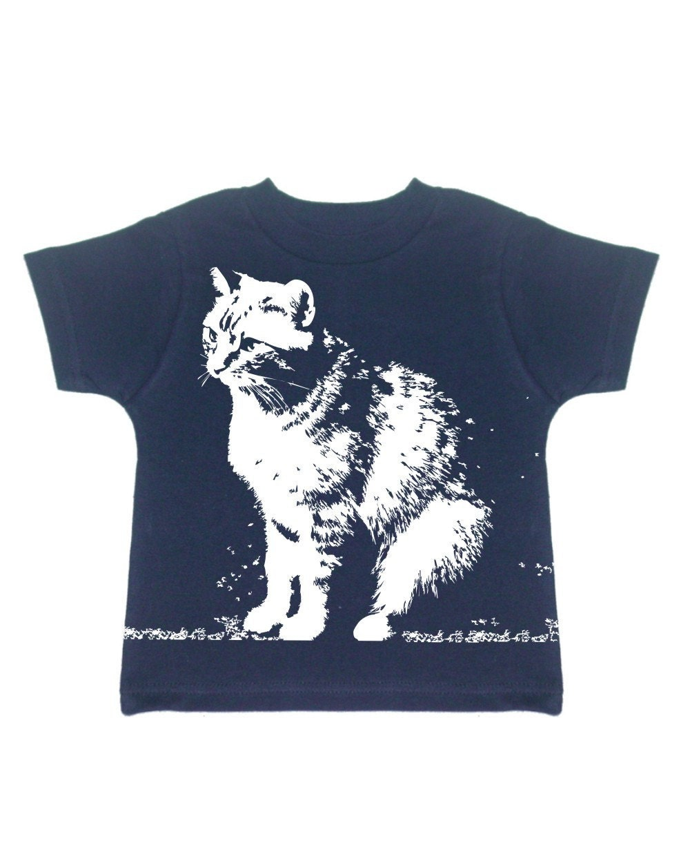 Abby Cat on Infants Rabbit Skins Short-Sleeve tee