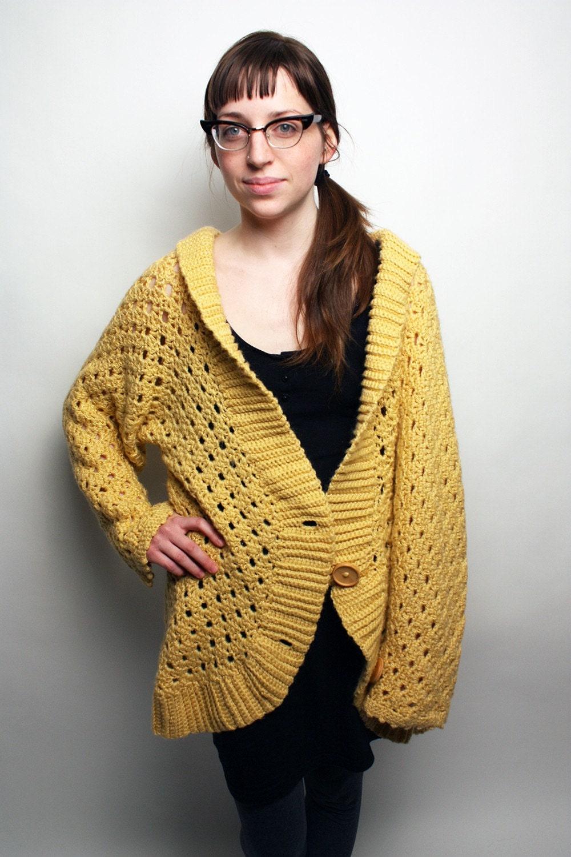 Yellow Cardigan For Women