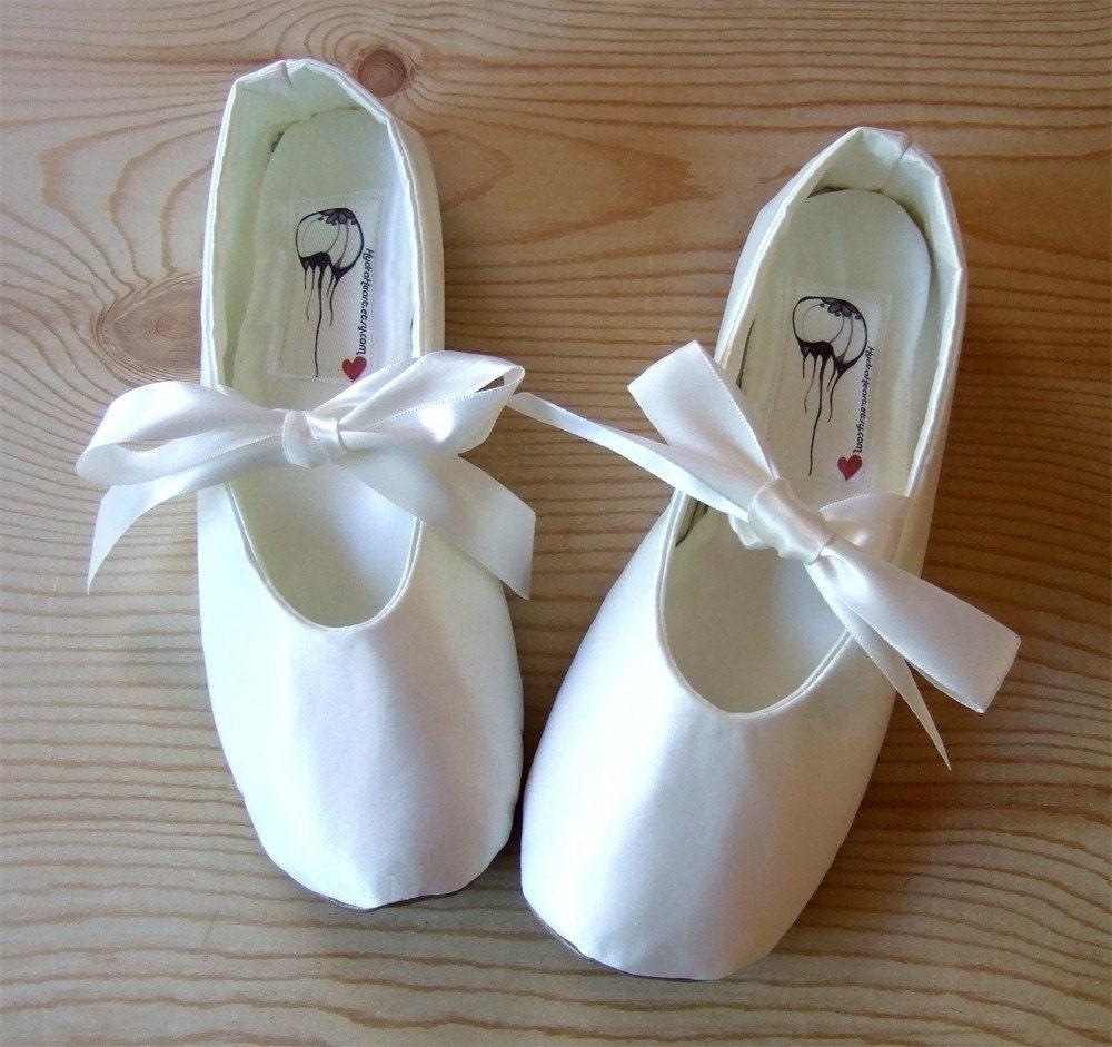 Custom Bridal Flats reserved for Melissa