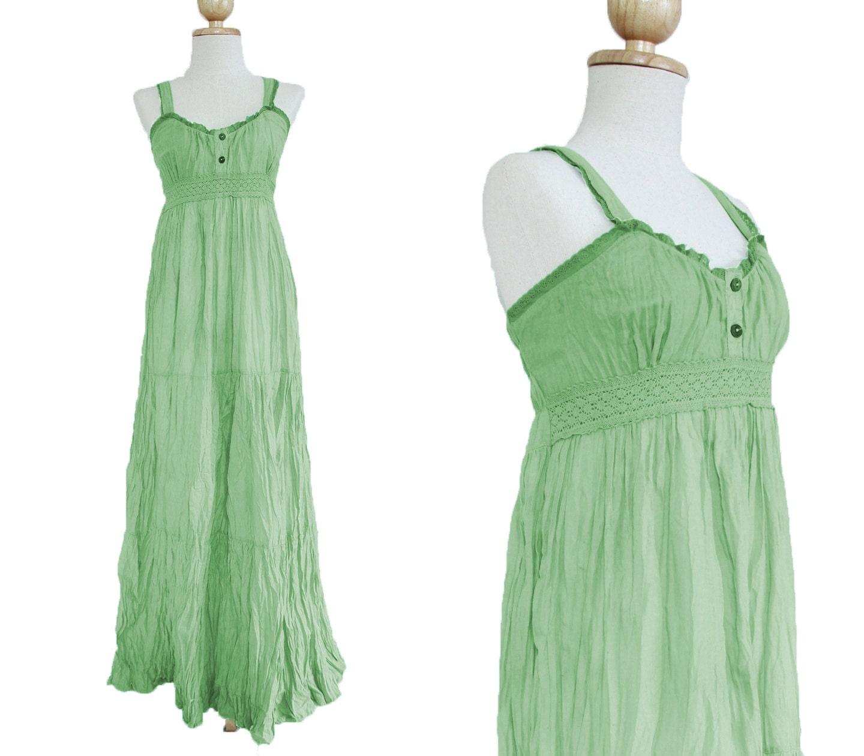Mint Maxi Dress Maternity Dress Beach Wedding By Idea2wear