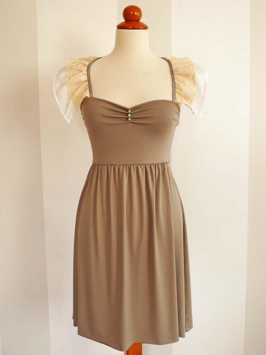 Soft Beige Dress