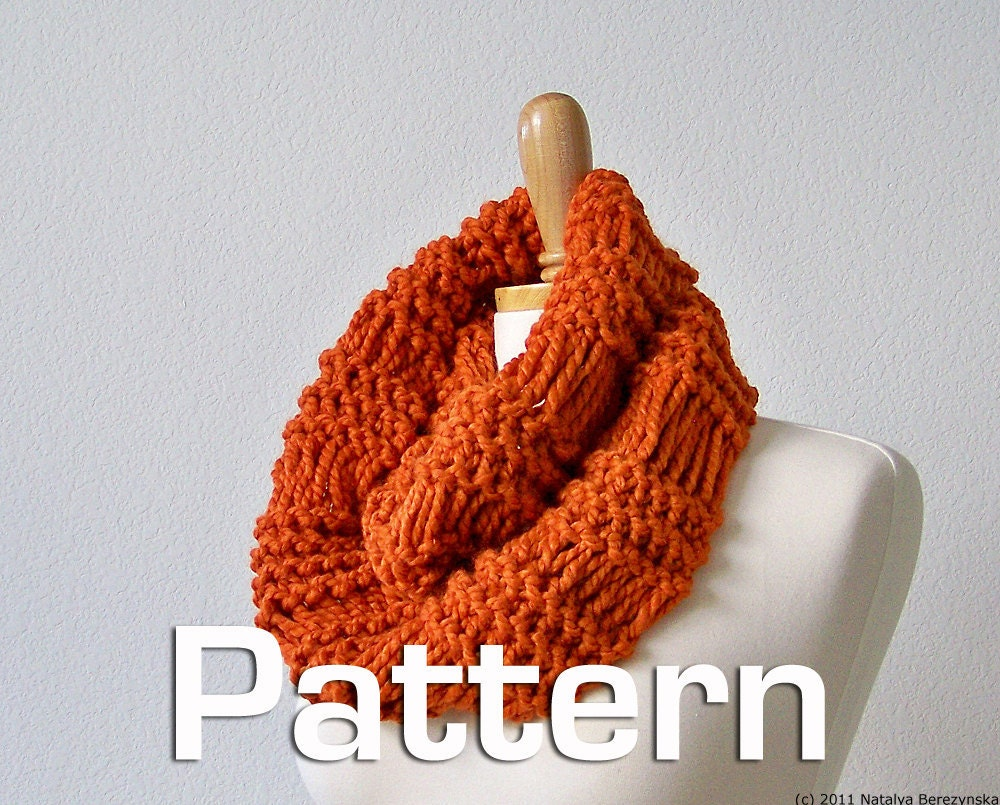 chunky scarf knitting patterns.