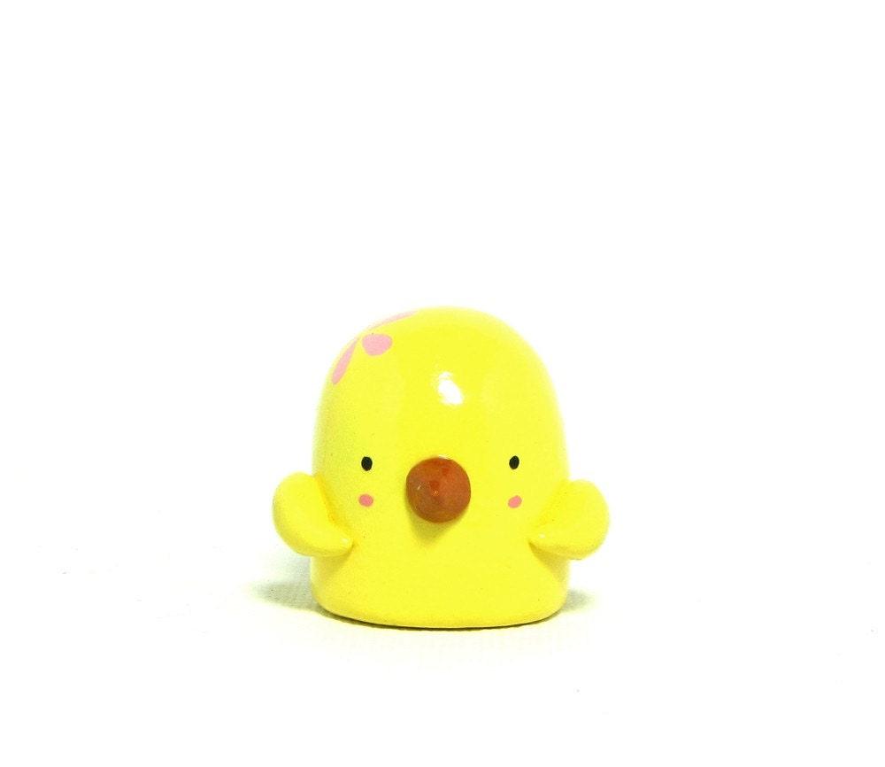 Canary Bird Figurine